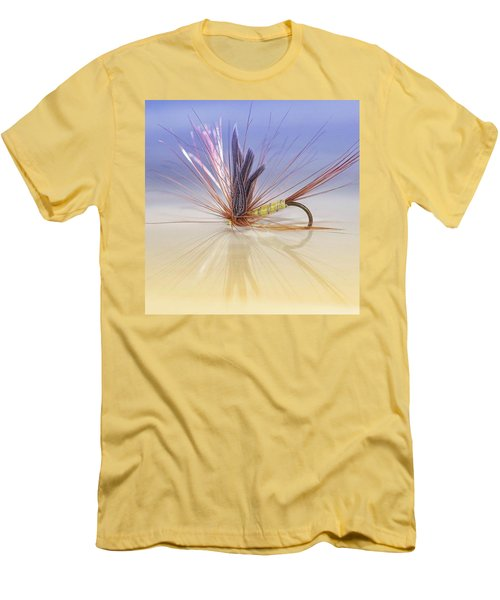A Trout Fly (greenwell's Glory) Men's T-Shirt (Slim Fit) by John Edwards