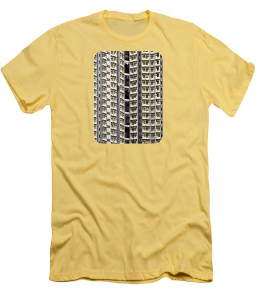 A Work In Progress Men's T-Shirt (Slim Fit) by Ethna Gillespie