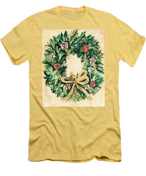 A Wreath  Men's T-Shirt (Athletic Fit)