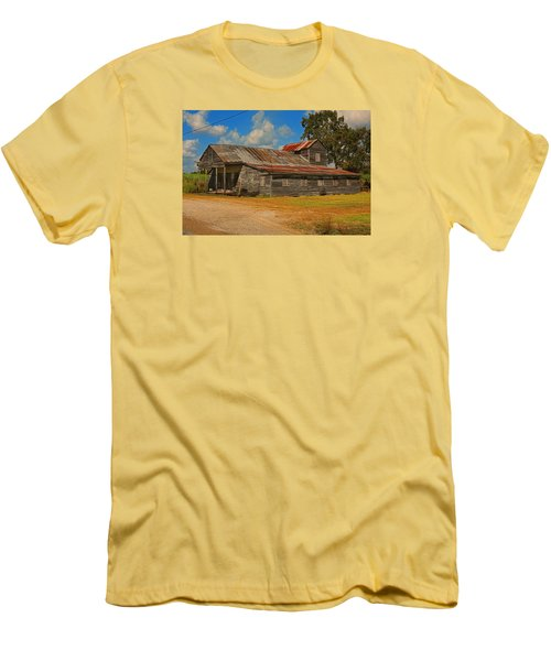 Abandoned Store Men's T-Shirt (Slim Fit) by Ronald Olivier