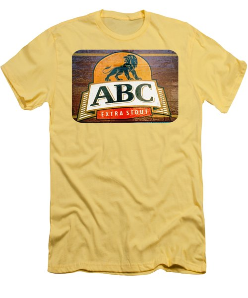 Abc Stout Men's T-Shirt (Slim Fit) by Ethna Gillespie