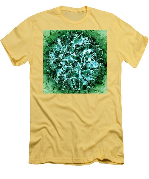 Abstract 3 Men's T-Shirt (Slim Fit) by Patricia Lintner
