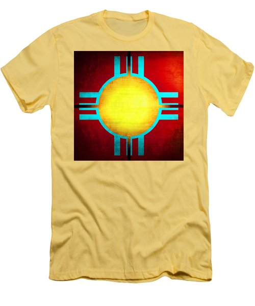 Abstract 98 Men's T-Shirt (Slim Fit) by Timothy Bulone