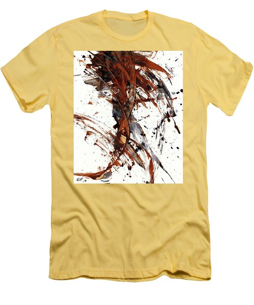 Abstract Expressionism Series 51.072110 Men's T-Shirt (Slim Fit) by Kris Haas