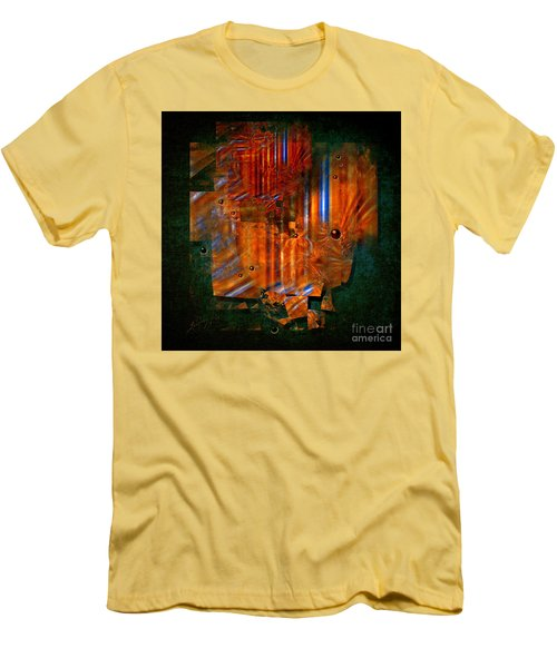 Abstract Fields Men's T-Shirt (Athletic Fit)