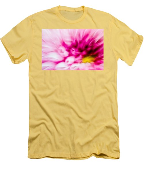 Abstract Floral No. 1 Men's T-Shirt (Athletic Fit)