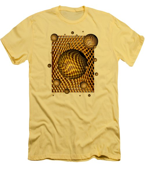 Abstract - Life Grid Men's T-Shirt (Athletic Fit)