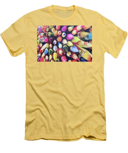 Abstract Two Men's T-Shirt (Athletic Fit)