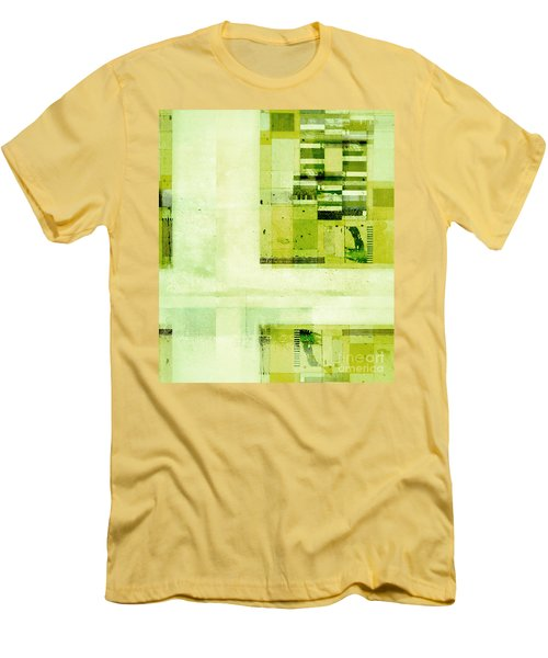 Men's T-Shirt (Slim Fit) featuring the digital art Abstractitude - C4v by Variance Collections