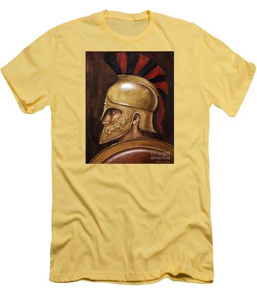 Achilles Men's T-Shirt (Slim Fit) by Arturas Slapsys