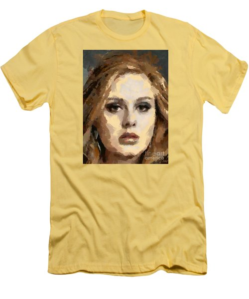 Adele Men's T-Shirt (Slim Fit) by Dragica Micki Fortuna