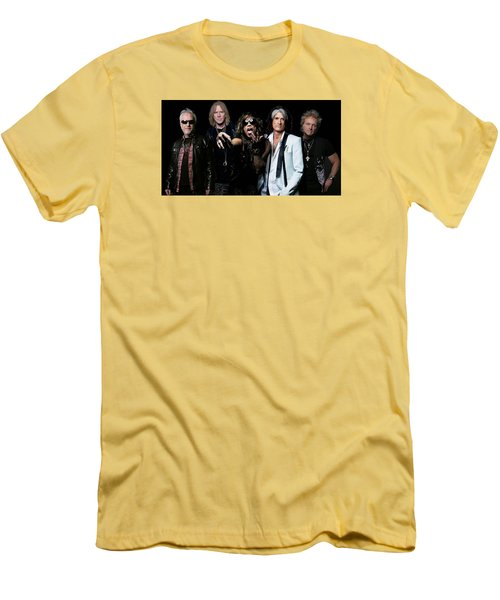 Aerosmith Men's T-Shirt (Slim Fit) by Sean