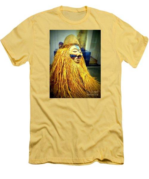 African Artifact Men's T-Shirt (Slim Fit) by John Potts