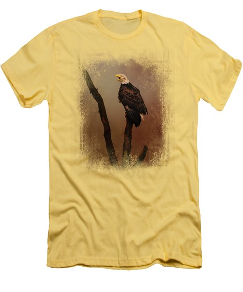 After The Autumn Storm Men's T-Shirt (Slim Fit) by Jai Johnson