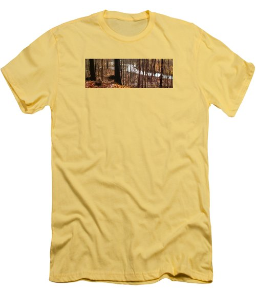 Men's T-Shirt (Slim Fit) featuring the photograph After The Rain by Spyder Webb
