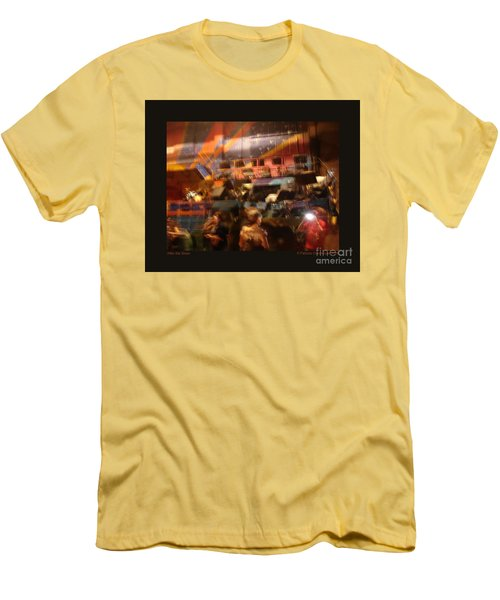 After The Show Men's T-Shirt (Slim Fit) by Patricia Overmoyer