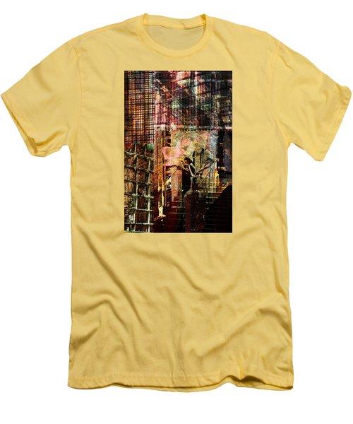 Afternoon Tea Men's T-Shirt (Slim Fit) by Don Gradner