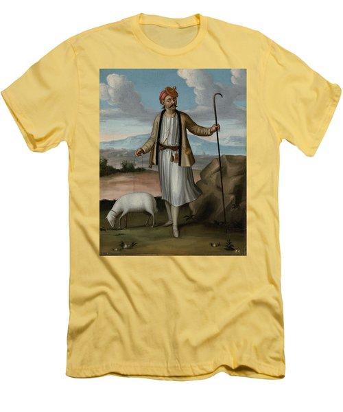 Albanian Herdsman Men's T-Shirt (Athletic Fit)