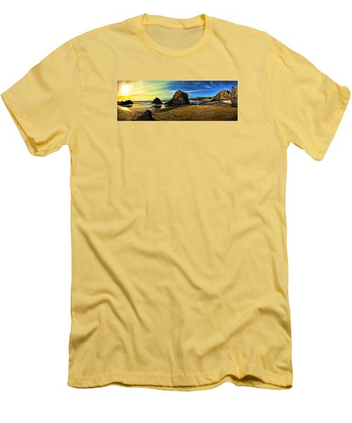 All The Gold In California Men's T-Shirt (Athletic Fit)
