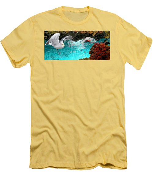 Allure Of Treats Men's T-Shirt (Slim Fit) by Mike Breau
