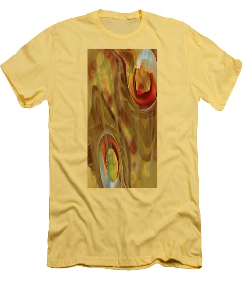 Men's T-Shirt (Slim Fit) featuring the digital art Almost Resting by Steve Sperry