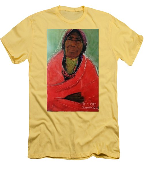Amazing Grace Men's T-Shirt (Slim Fit) by FeatherStone Studio Julie A Miller