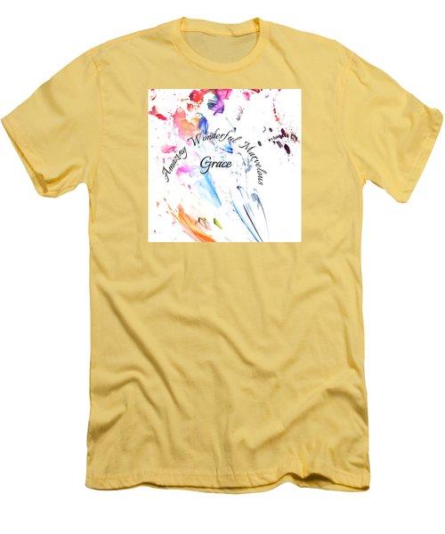 Amazing Wonderful Marvelous Grace Men's T-Shirt (Athletic Fit)