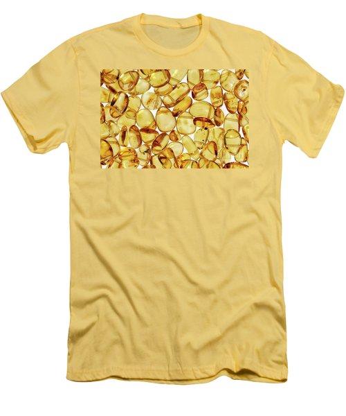 Amber #2h2a0902 Men's T-Shirt (Slim Fit) by Andrey Godyaykin