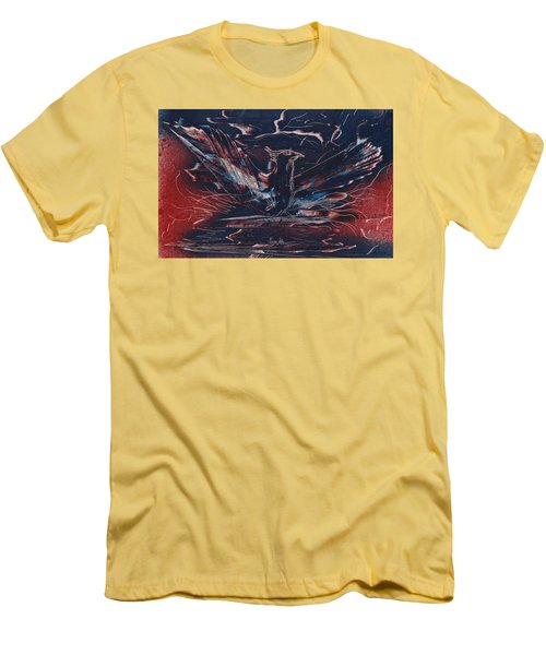 American Phoenix Rising Men's T-Shirt (Athletic Fit)