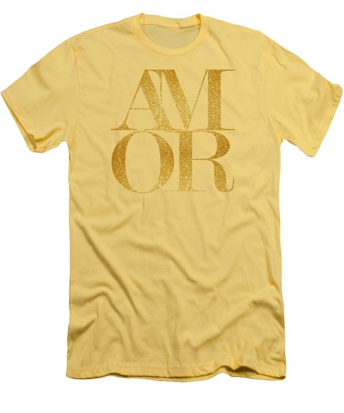 Amor Men's T-Shirt (Athletic Fit)