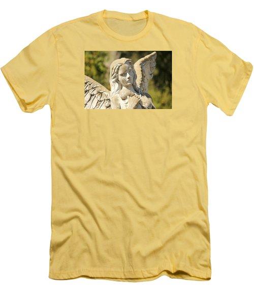 Angel In Mississippi Men's T-Shirt (Slim Fit) by Lynn Jordan