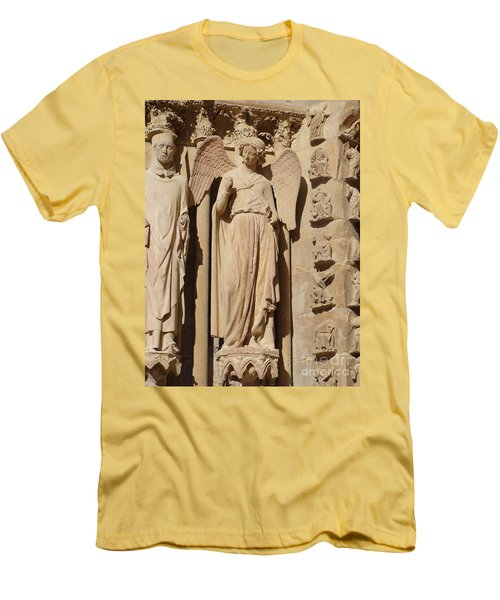 Angel In Reims Men's T-Shirt (Athletic Fit)