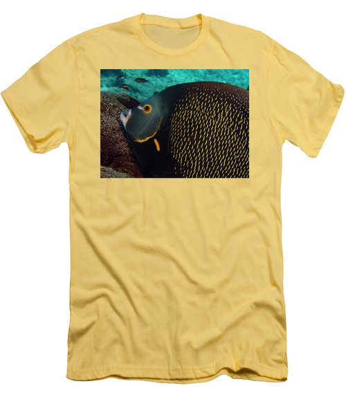 Men's T-Shirt (Slim Fit) featuring the photograph Angel Profile by Jean Noren