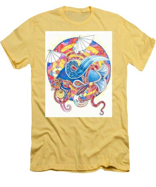 Anglo-saxon Eagle Men's T-Shirt (Athletic Fit)
