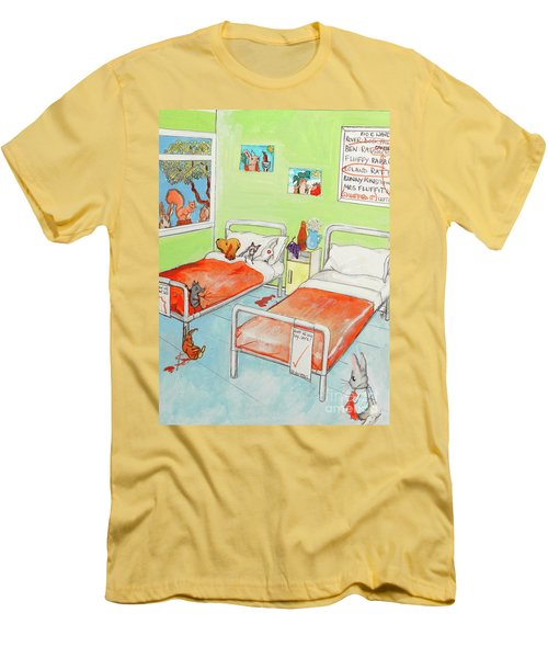 Animals Men's T-Shirt (Athletic Fit)