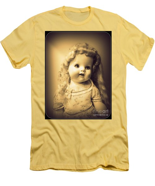 Antique Dolly Men's T-Shirt (Slim Fit) by Susan Lafleur