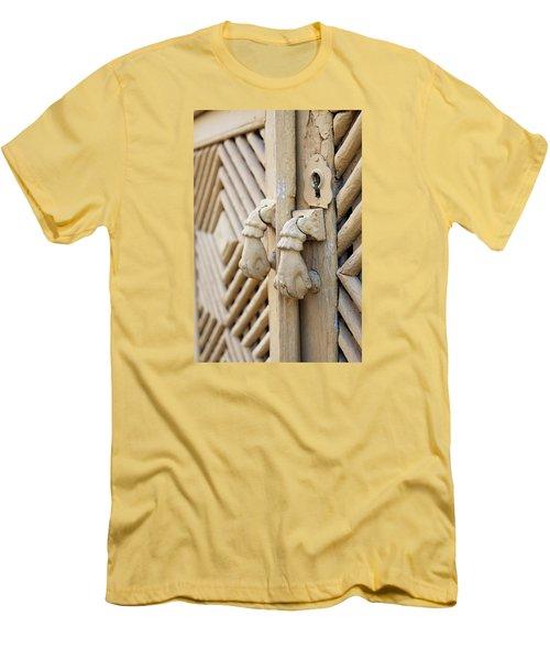 Antique Mediterranean Door-knocker Men's T-Shirt (Athletic Fit)