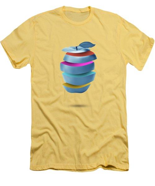 new York  apple Men's T-Shirt (Athletic Fit)