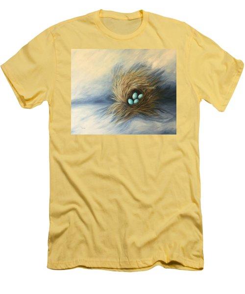 April Nest Men's T-Shirt (Athletic Fit)