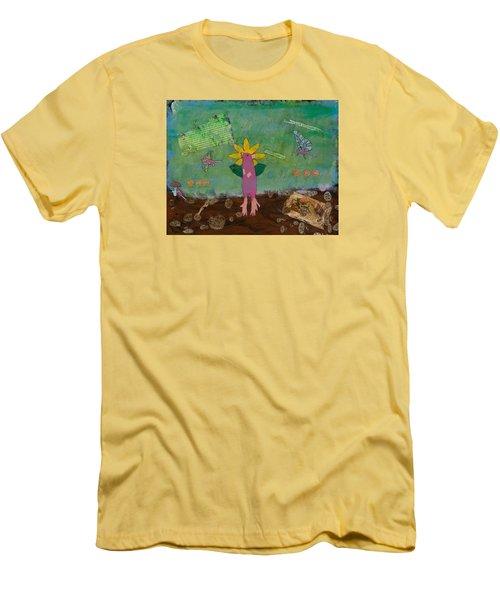 April Showers Men's T-Shirt (Athletic Fit)