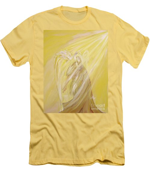 Archangel Uriel - Light Of God Men's T-Shirt (Athletic Fit)