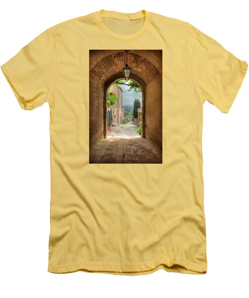 Arched View Men's T-Shirt (Athletic Fit)