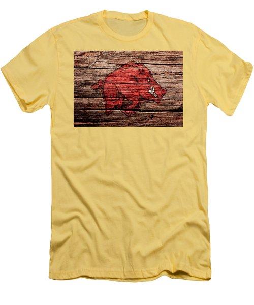 Arkansas Razorbacks Men's T-Shirt (Slim Fit) by Brian Reaves