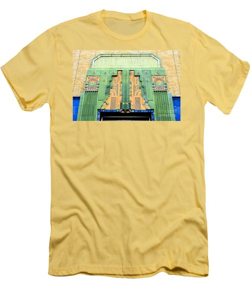 Art Deco Facade At Old Public Market Men's T-Shirt (Athletic Fit)