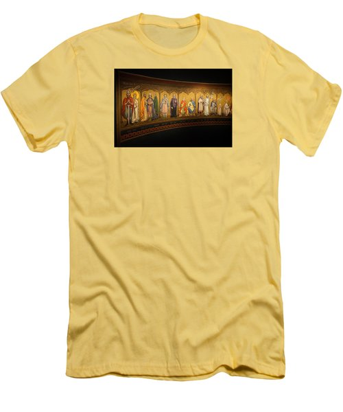 Men's T-Shirt (Slim Fit) featuring the photograph Art Mural by Jeremy Lavender Photography