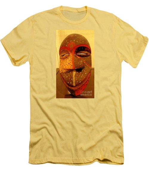 Artifact Mask Of Angola Men's T-Shirt (Slim Fit) by John Potts