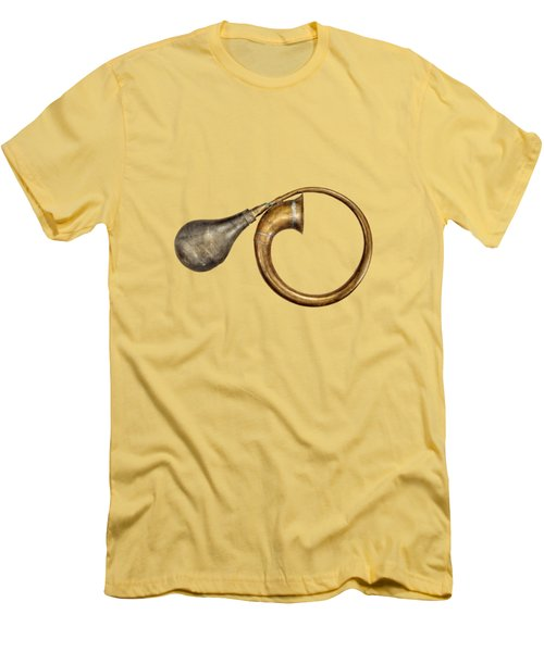 Antique Brass Car Horn Men's T-Shirt (Athletic Fit)