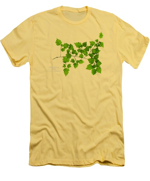 Men's T-Shirt (Slim Fit) featuring the photograph Hawthorn by Christina Rollo