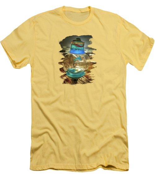 Beach Treasures - Faith Men's T-Shirt (Slim Fit) by Thom Zehrfeld