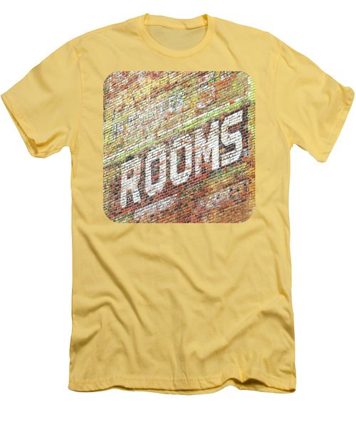 Rooms Men's T-Shirt (Slim Fit) by Ethna Gillespie